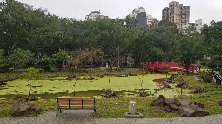 圖1.興隆公園生態池