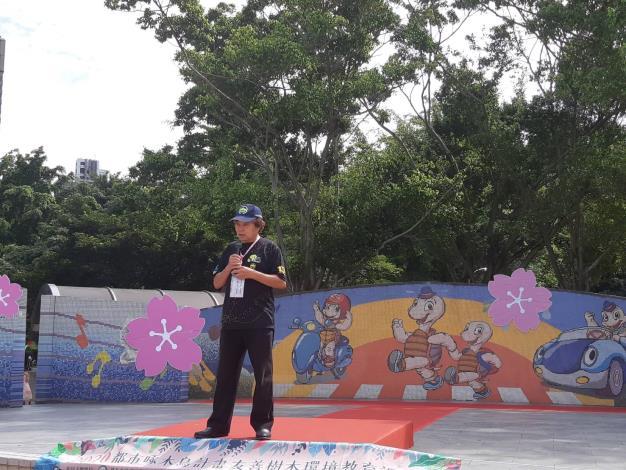 圖五_由大安森林公園之友基金會楊平世執行長致詞為活動展開序幕