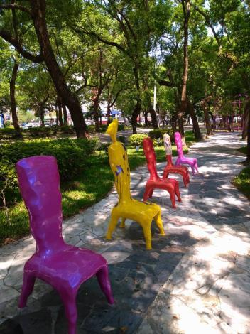 (圖3) 綠蔭、書香、人文藝術的靜成就敦化南路特殊景點