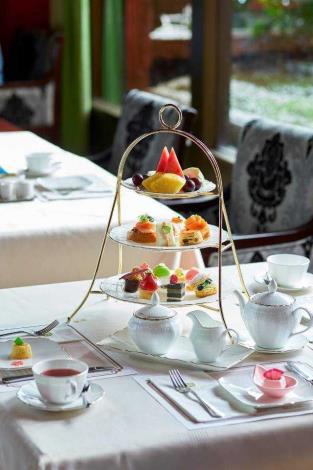圖6. 主辦單位更加碼送出特約店家-圓山大飯店花園咖啡廳英式雙人下午茶組2套。