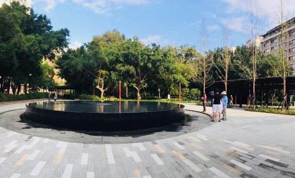 北投公園-鏡面水池
