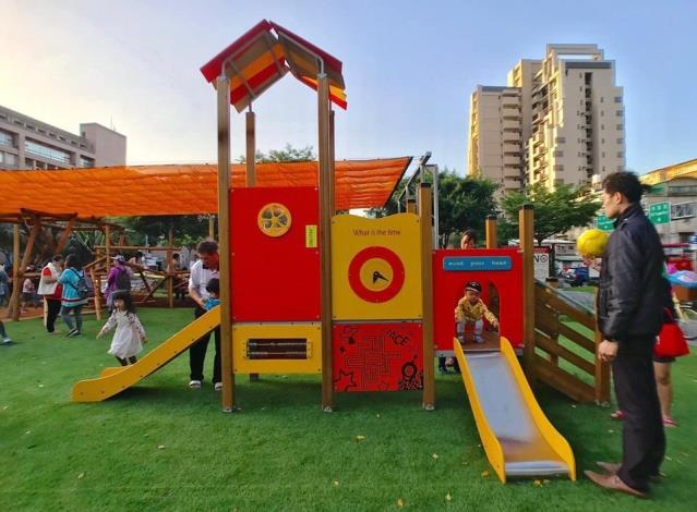 和平青草園-歡樂小屋遊具組001