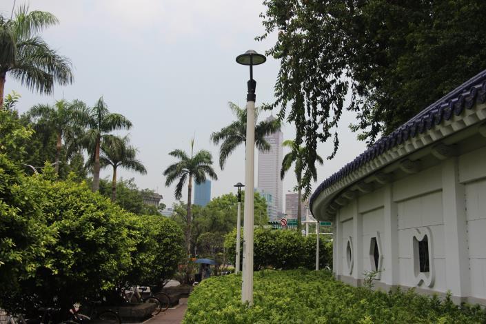 2.中正紀念堂設置的LED景觀燈[開啟新連結]