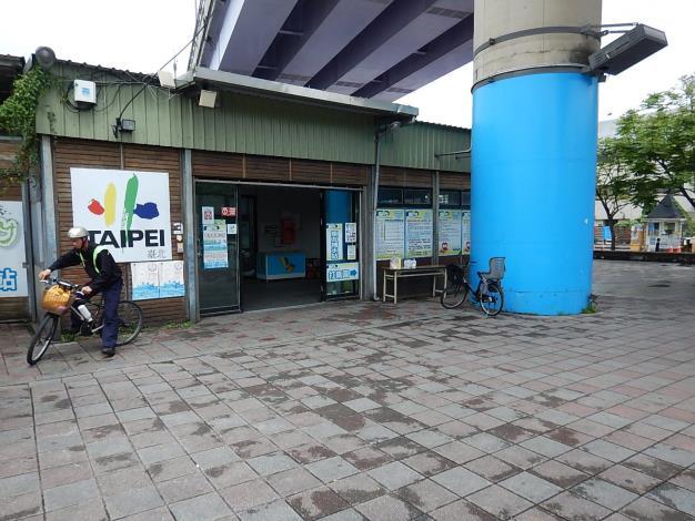 自行車租借站景福站
