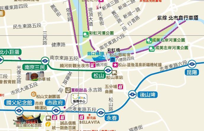成美河濱公園觀光地圖[開啟新連結]