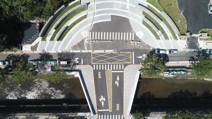 不只是拓寬工程 北市勤力橋陶板畫出當地歷史 將參選第18屆公共工程金質獎