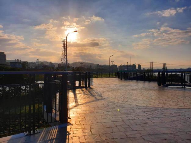 士林區後港一二橋為百齡河濱公園內往來通行的重要通道[開啟新連結]