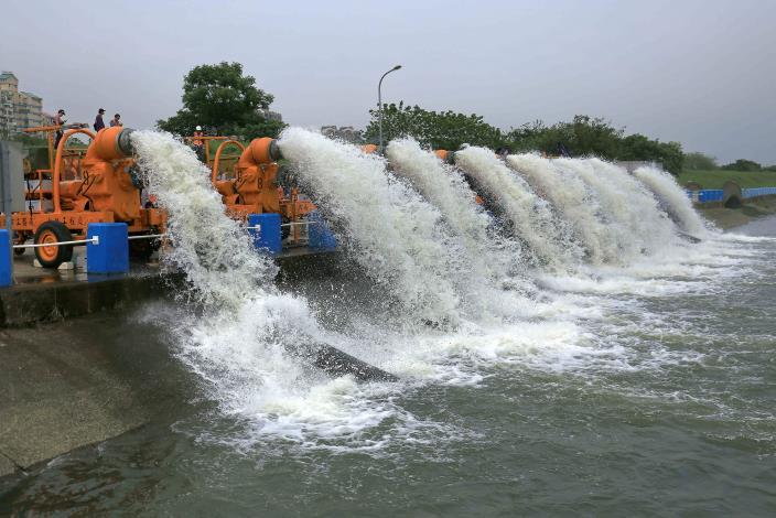 迎戰颱風季 北市防汛演練 強化災害應變能力