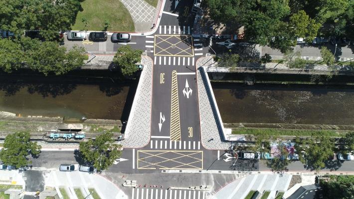 「四分溪勤力橋拓建工程」北市水利處拓寬勤力橋 如質如期完成