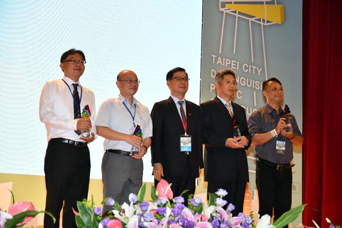 雙榮耀! 北市水利處勇奪兩座臺北市公共工程卓越獎