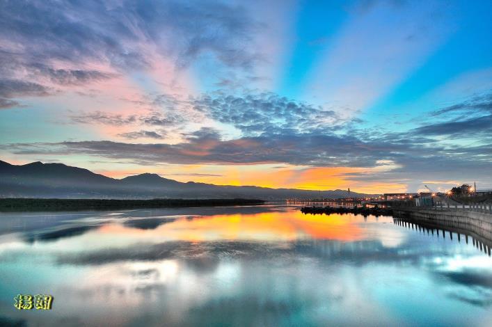 社子島的島頭公園視野寬闊  是不可錯過的賞月好地點