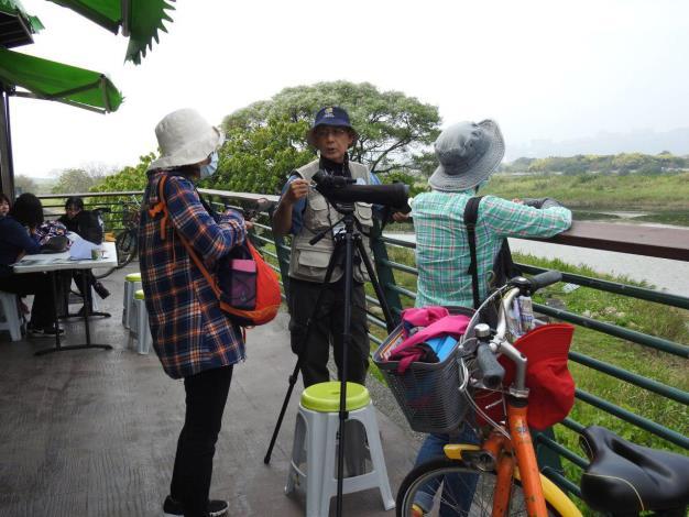 生態志工隊解說社子島溼地生態