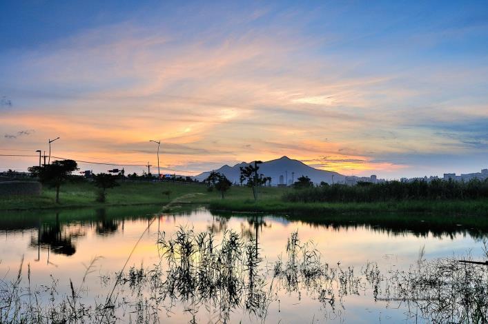 社子島濕地美景