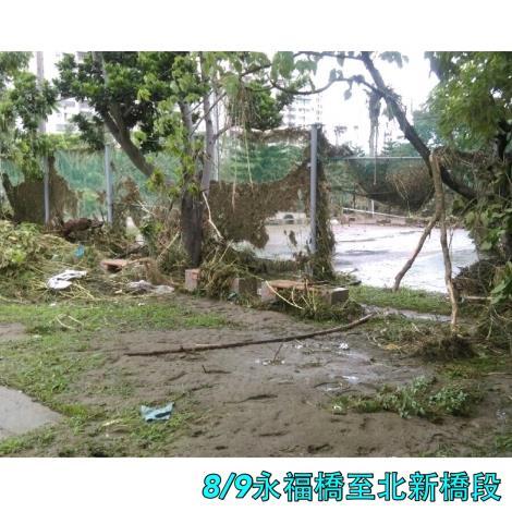8月9日永福橋至北新橋段球場[開啟新連結]