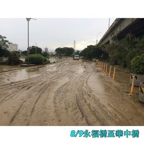 8月9日永福橋至華中橋段車道[開啟新連結]