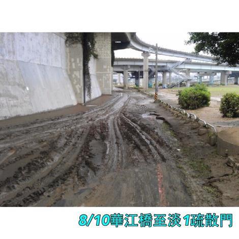 8月10日華江橋至淡1疏散門車道[開啟新連結]
