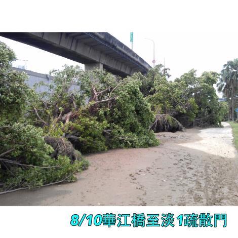 8月10日華江橋至淡1疏散門橋下[開啟新連結]
