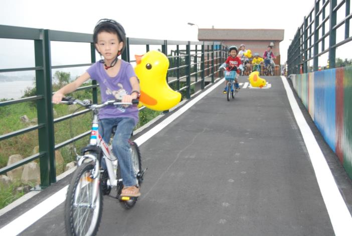 海院段堤外自行車道(小鴨慢騎)[開啟新連結]