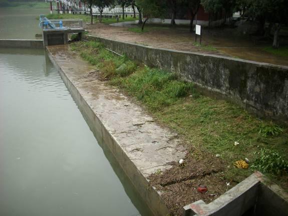 清疏導水路完工