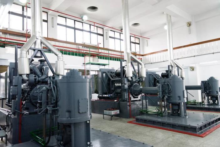 Pump sets of Dihua Pumping Station(迪化抽水站抽水機機組)