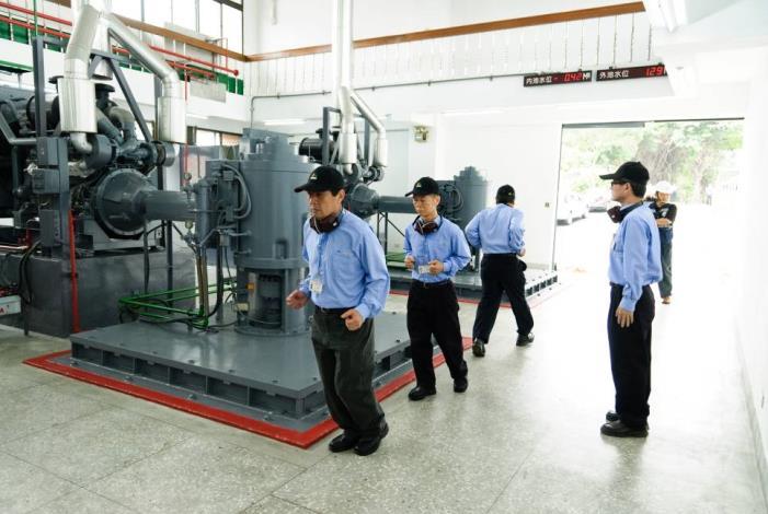 Running Tests of pump sets(抽水機組運轉測試)