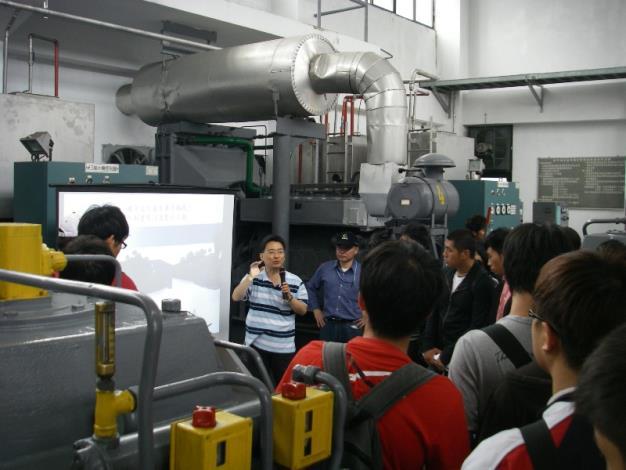 針對萬芳抽水站抽水機組進行說明。Introducing pump sets of Wangfang Pumping Station.