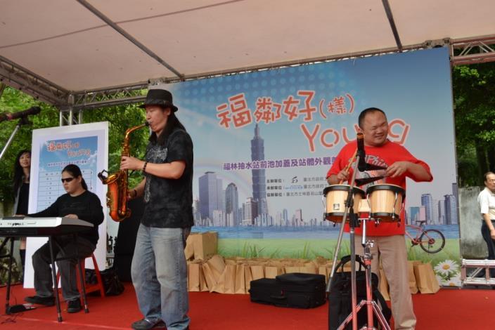 LIFE生命樂團之動感演奏(Invigorating performance of the LIFE Band.)
