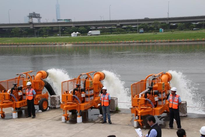 The Chung Kang River's Bicycle/Pedestrian Bridge Construction and the Project of Guandu Wharf's  environmental improvements.