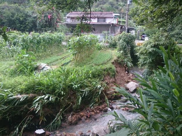安泰溪豪雨災後復建完成,恢復自然生態環境