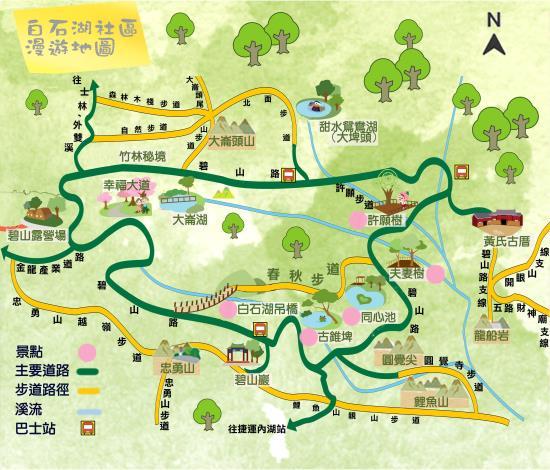 臺北市內湖區白石湖地區漫遊地圖[開啟新連結]