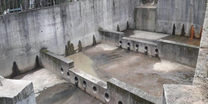 3-左2-北投區北投6號公園(石牌路二段315巷底)沉砂池清淤情形