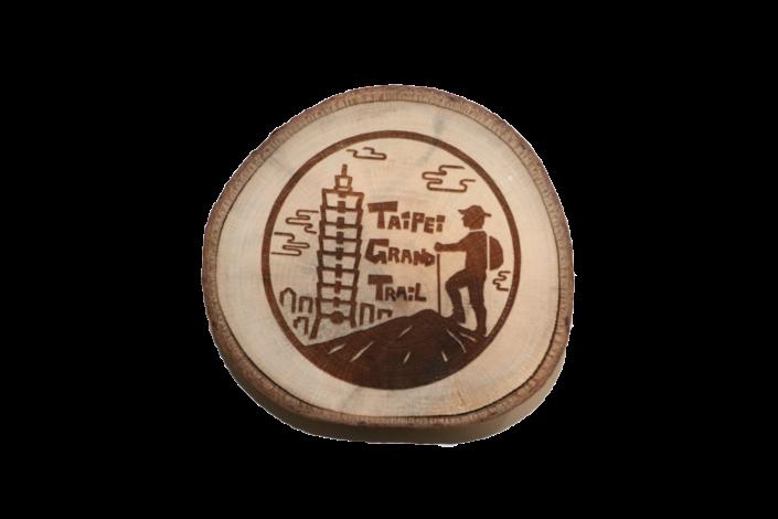07歡樂Lucky ball紀念品-木頭杯墊
