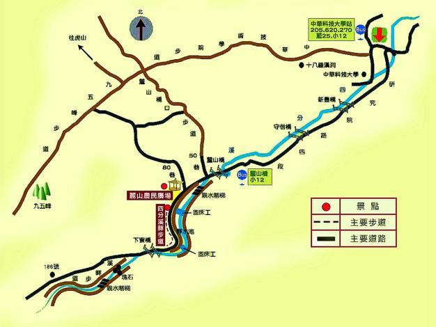 九如社區漫遊地圖