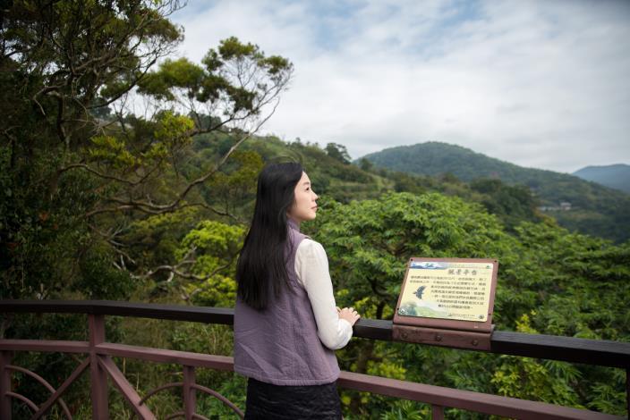 照片3 觀景平台遠眺山巒景色