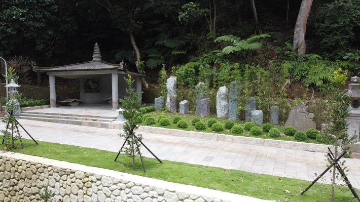 07終南亭以終南山意象營造日式庭園造景