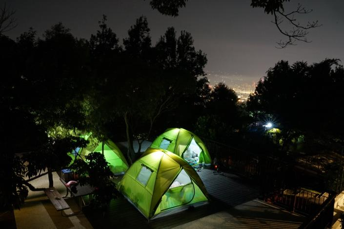 圖3_碧山露營場星空露營