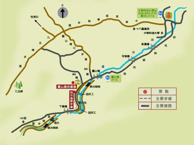 麗山農民廣場地圖