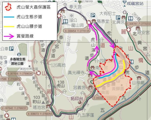 03圖片1 虎山賞螢路線圖