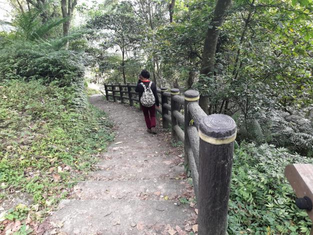 07大成殿步道從指南路三段直接陡上,通往指南宮後山道路