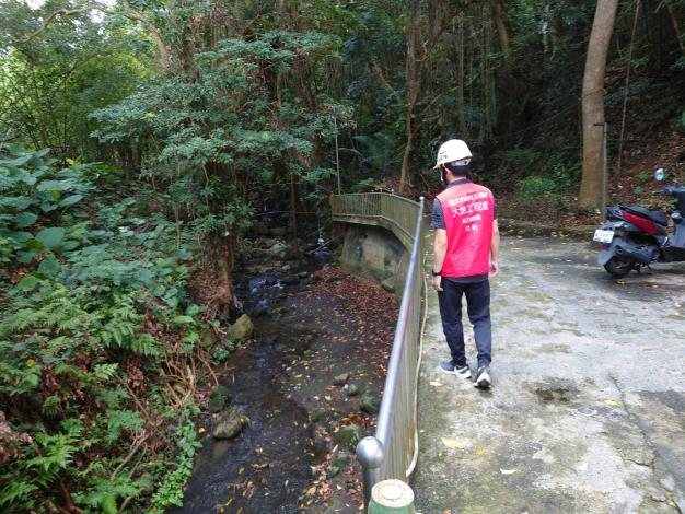 士林區DF021土石流潛勢溪流巡檢無異常