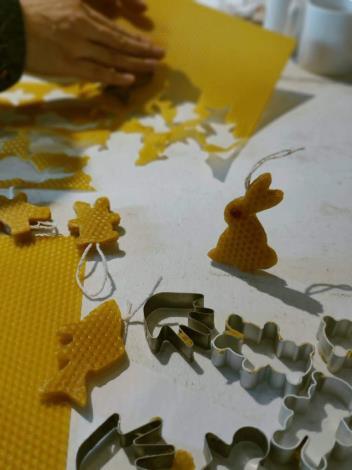 04DIY蜂蠟造型蠟燭