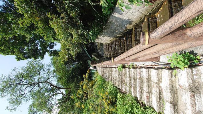10小天空步道可通往下方溪溝和步道.JPG