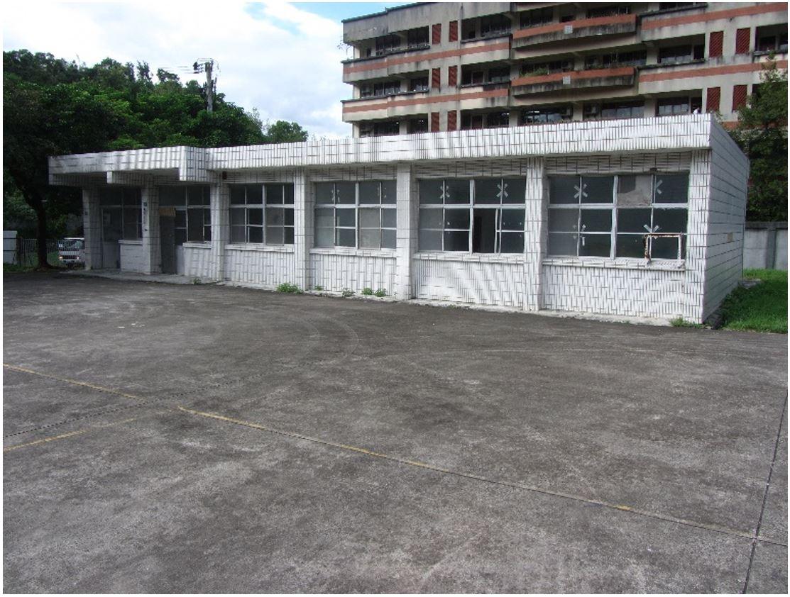 33.服務導覽站整修前原貌