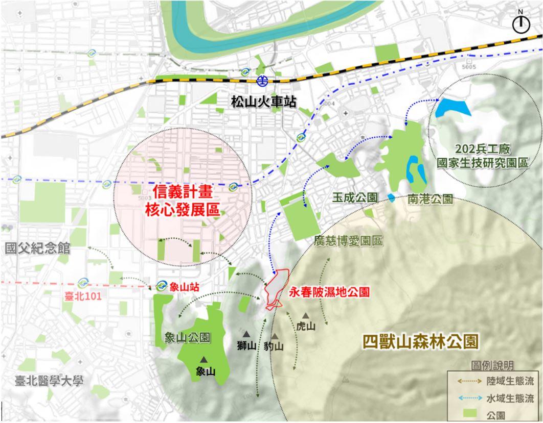 1.信義計畫區核心發展區圖