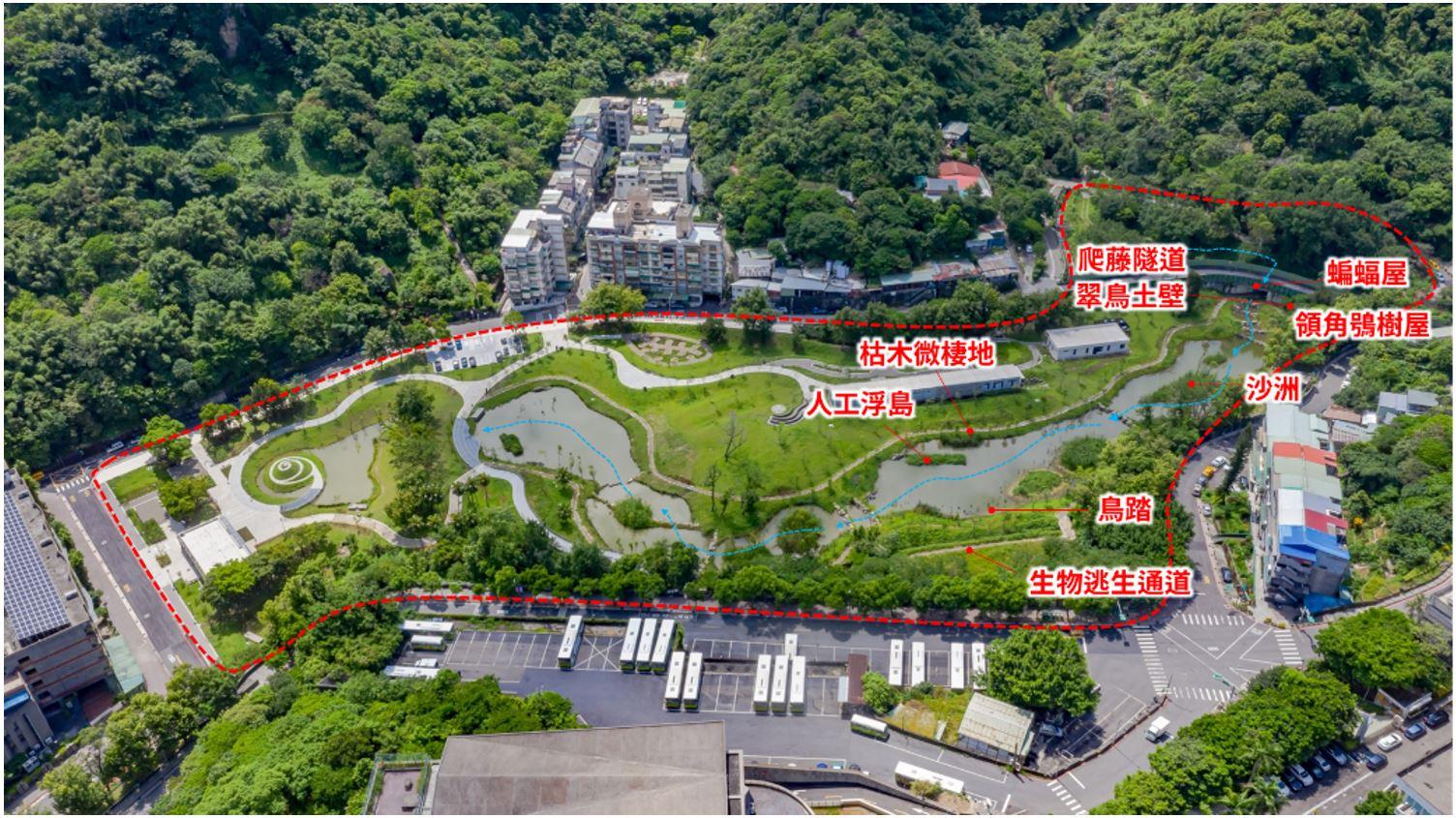 12.生態棲地營造位置圖