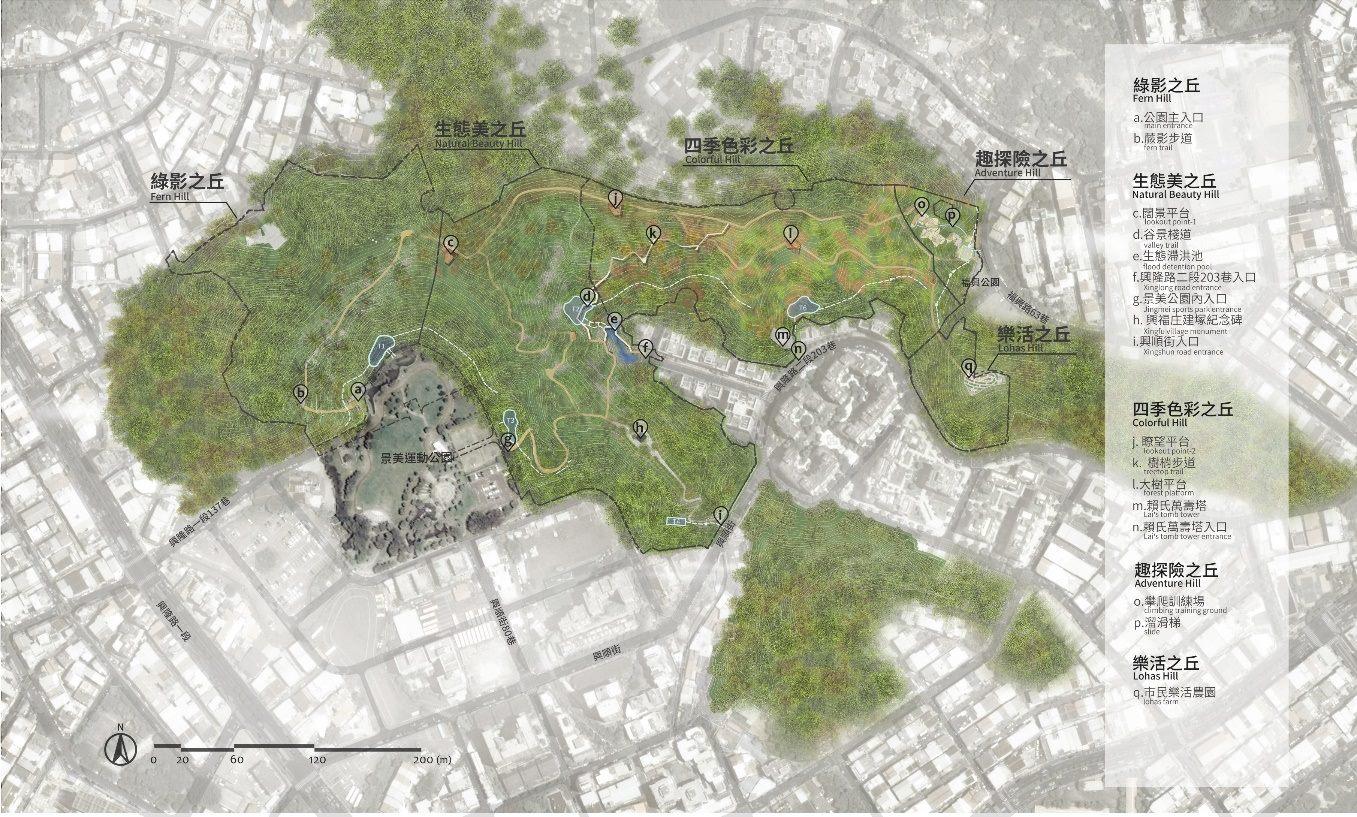 照片1 未來規劃五大主題區域