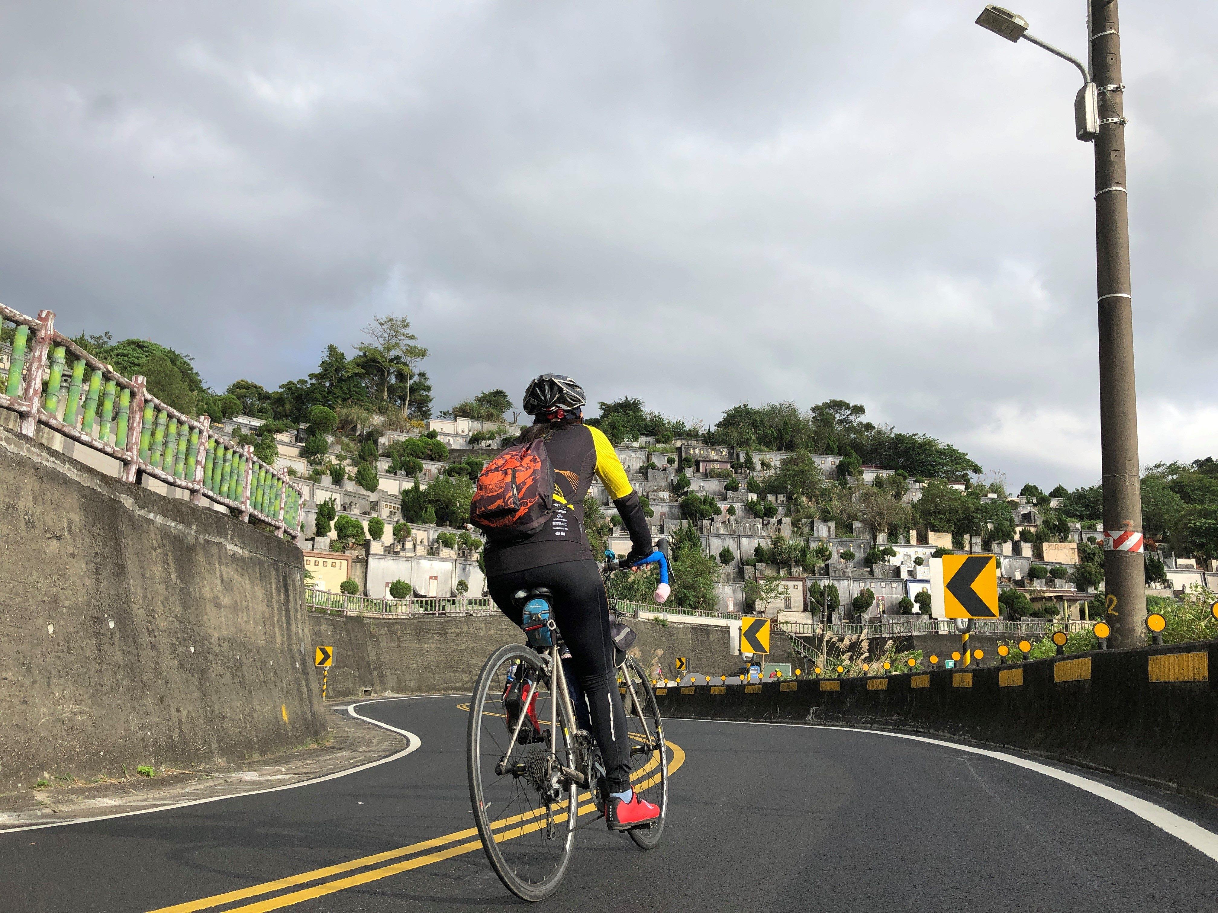 完工後自行車騎乘現況照片