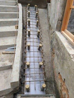 排水溝施工作業