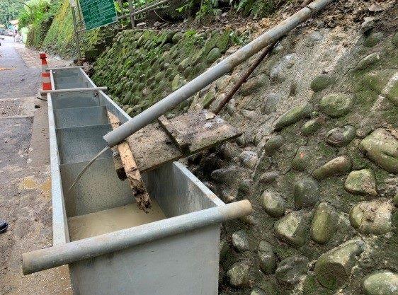 污水截流沉澱池