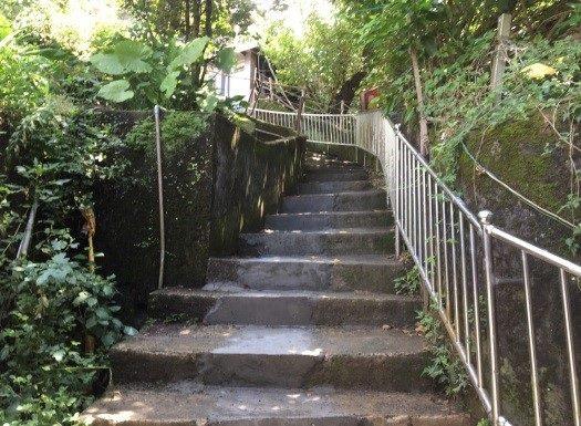 污水管線施作完成修復階梯
